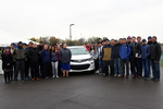 Unveiling of the Chevy Volt 10 by Sarah Schuch